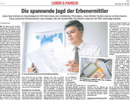 IAPPR in German Press : WAZ